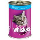 Зоотовары Киев. Whiskas Киев. Whiskas (Вискас) паштет с тунцом 0,4 кг