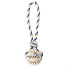 "Зоотовары Киев. Собаки.Игрушки. Trixie - игрушка ""Ball on a Rope, Natural Rubber"""
