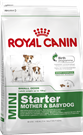 Зоотовары Киев. Собаки.Сухой корм.Щенки. Royal Canin (Роял Канин) Mini Starter (Мини Стартер) 8,5 кг