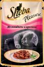 Зоотовары Киев. Sheba Киев. Sheba (Шэба) Pleasure кролик с говядиной 85 г