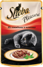 Изображение: Sheba (Шэба) Pleasure говядина с ягненком 85 г