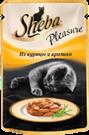 Изображение: Sheba (Шэба) Pleasure курица с кроликом 85 г