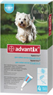 Зоотовары Киев. Собаки.Ветеренария.Средства от паразитов. Advantix (Адвантикс) 4-10 kg