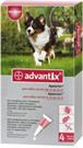 Зоотовары Киев. Собаки.Ветеренария.Средства от паразитов. Advantix (Адвантикс) 10-25 kg